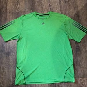 Adidas fitted men's L shirt